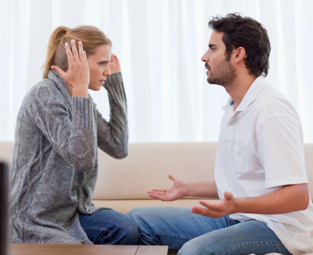 argument - anger